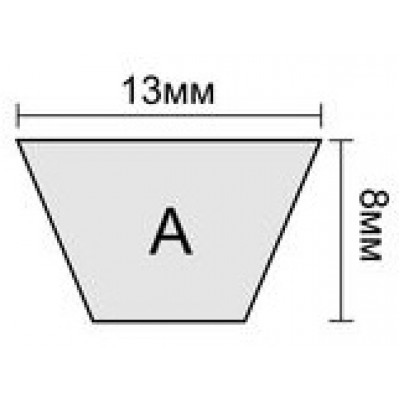 Клиновой ремень A 53
