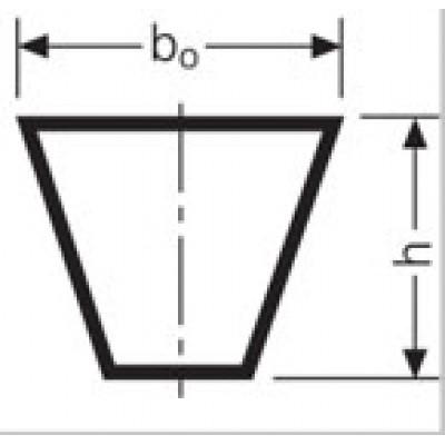 Клиновой ремень SPC 16500 Lw / Ld