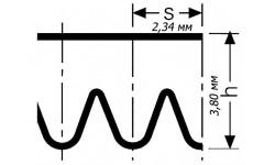 Поликлиновой ремень PJ1016