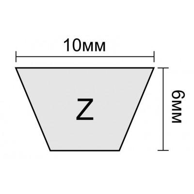 Клиновой ремень Z 34,5